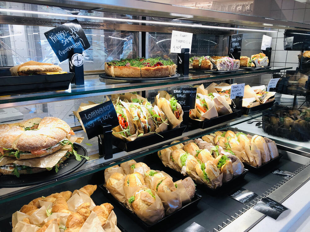 Vitriini Snowpanda Cafe